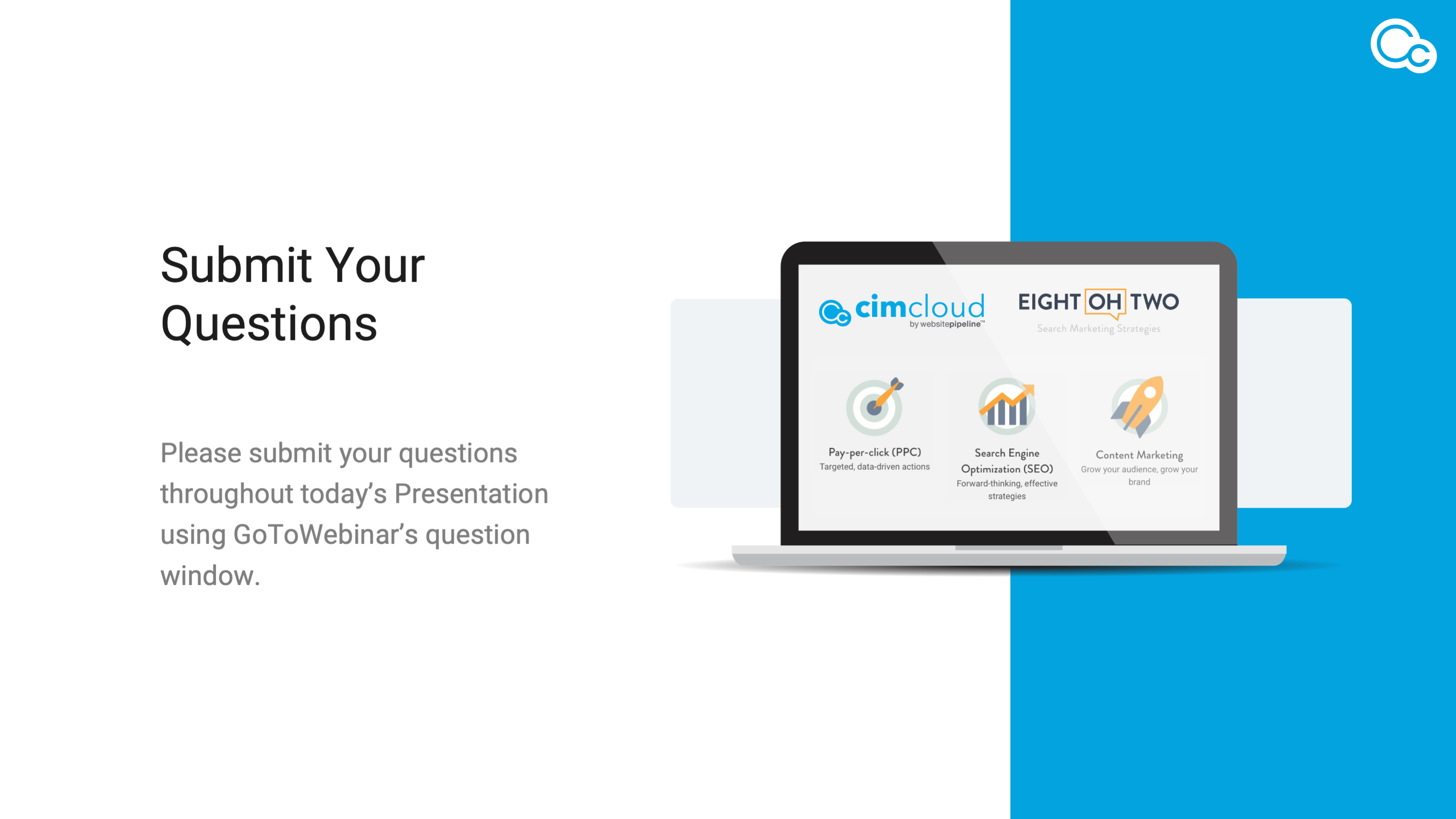 CIMcloud Search Marketing ''Ask Me Anything' Panel image